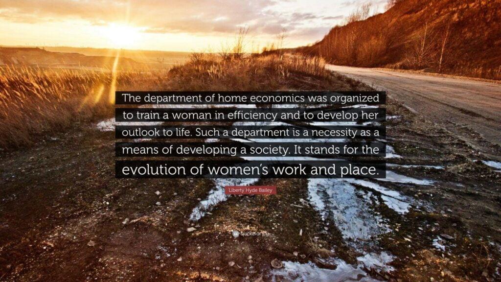 Home Economics Department